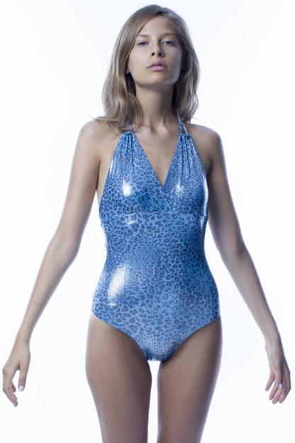 Costume intero blu easybikini