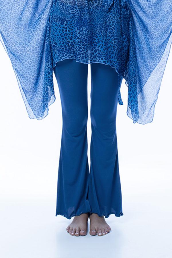 Pantalone blu morbido