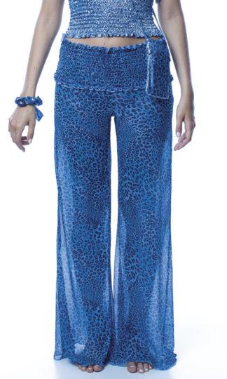 Pantalone blu easybikini
