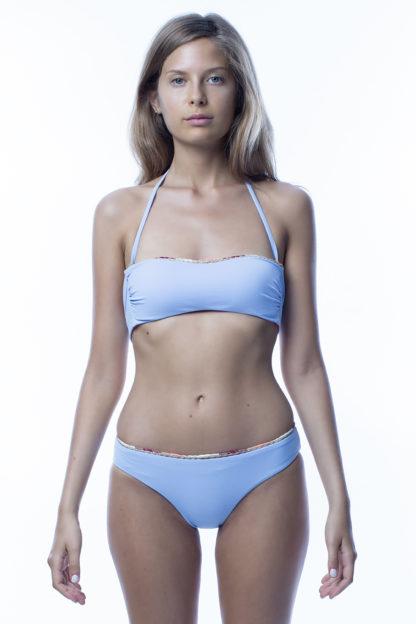 Fascia top bikini azzurro easybikini