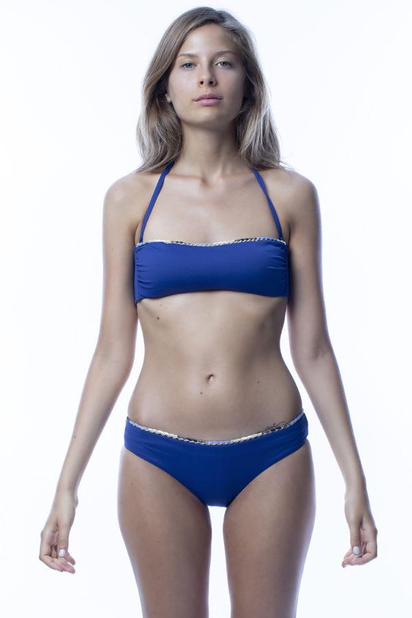 Fascia top bikini blu easybikini
